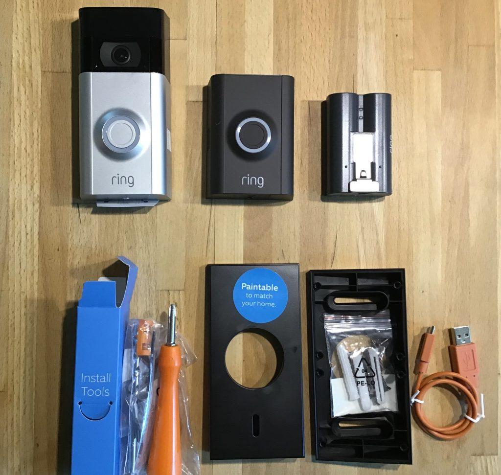 Ring Video Doorbell 2 Lieferumfang